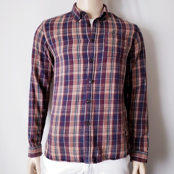 aaf746c4131 Scotch & Soda Shirts | Scotch Soda Amsterdam Couture Plaid Button ...